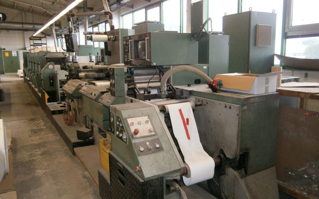 Gallus RU300 5 Colour Label Machine