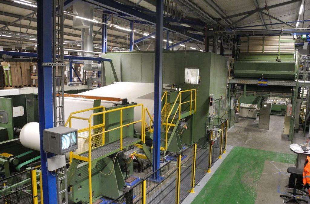 Consani 5500 CNC Toilettenpapierlinie