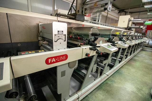 Nilpeter FA 4250 8 Colour Label Maschine
