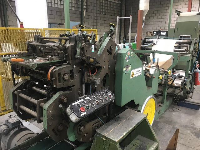 Weber 5W Block Bottom Bag Machine