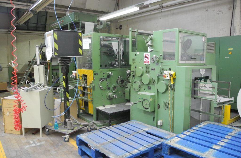 Hobema 28B 2 Colour Napkin Machine