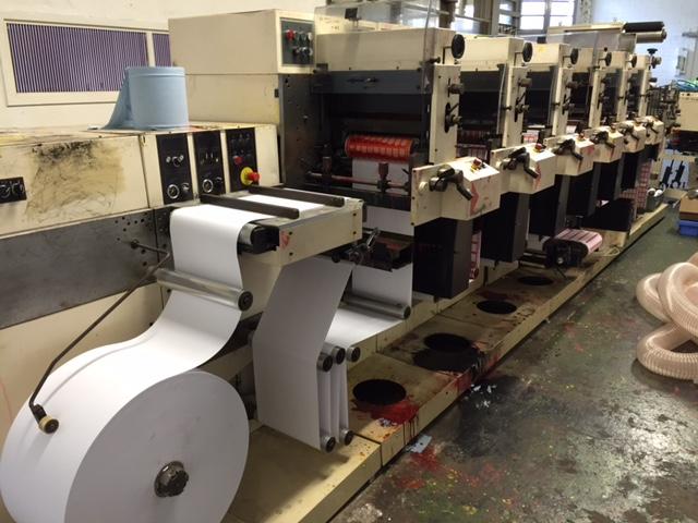 Nilpeter F-3000 6 Colour Flexo Label Printer