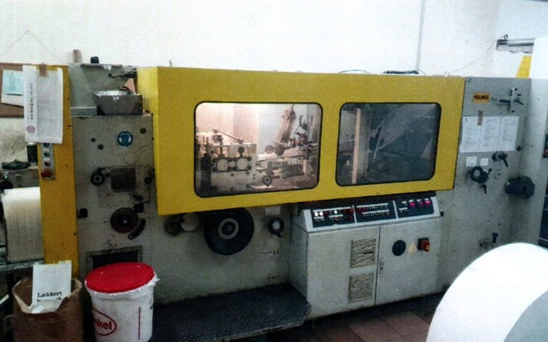 Holweg RS26 Flat & Satchel Bag Machine
