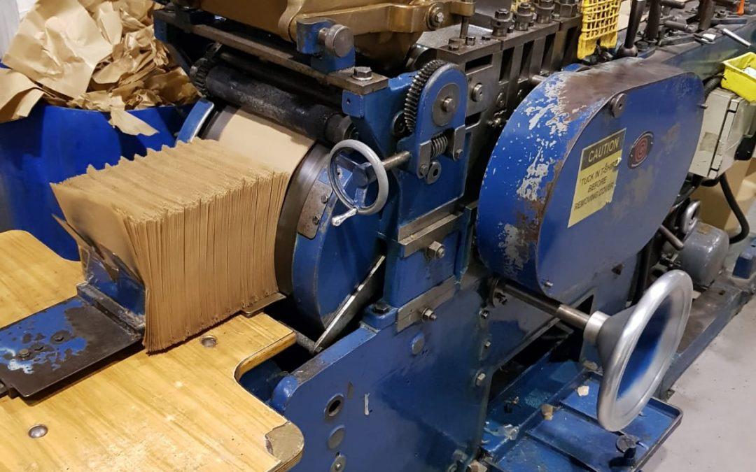 Cobden & Chadwick No. 1 Flat & Satchel Bag Machine