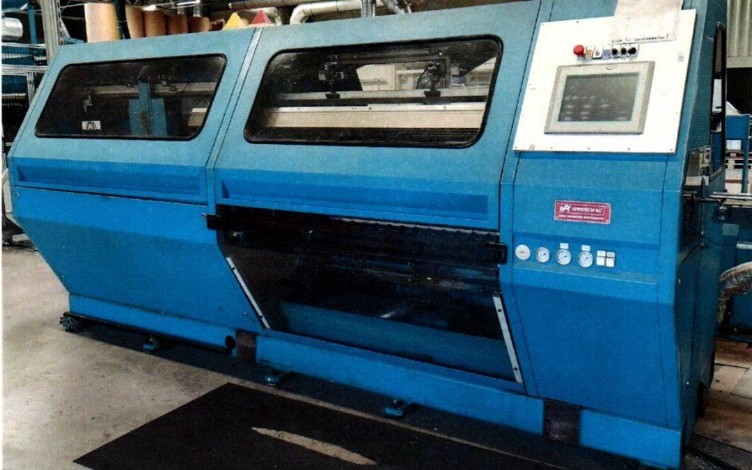 Senntech KPW2 Cash Roll Slitter Rewinder