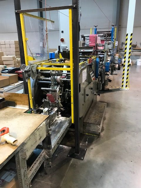 Holweg Royal 2 Block Bottom Bag Maschine