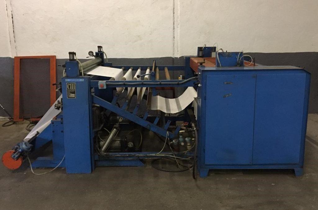 CM Machinery Coreless Rewinder