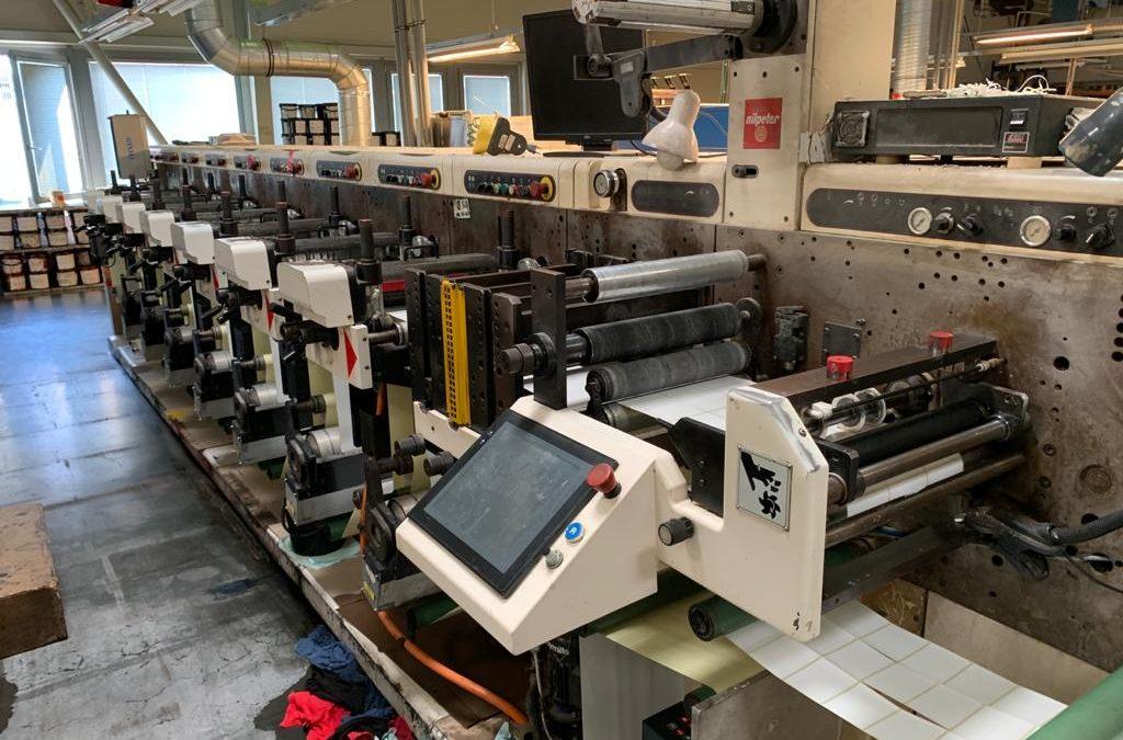 Nilpeter FA3300 7 Colour Label Machine